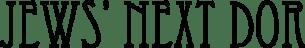 Jews' Next Dor Logo