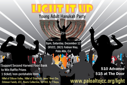 Light It Up! Young Adult Hanukkah Party